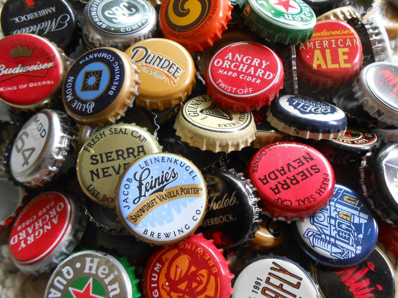 Beer capsbeer craft assorted beer bulk beer caps recycled - Beer bottle caps recyclable ...