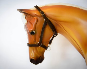 Traditional Breyer Leather Halter
