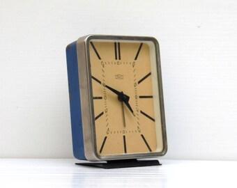Vintage Blue Alarm Clock - MOM