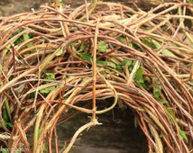 Honeysuckle Wreath ,  Honeysuckle Door Wreath ,  Honeysuckle Vine , Twig Wreath , Woodland Honeysuckle Wreath ,  Natural Honeysuckle