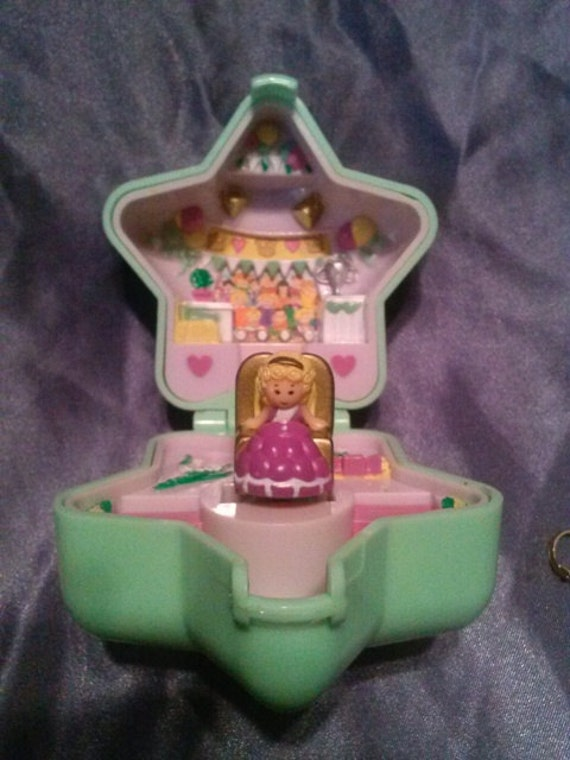 Polly Pocket Beauty Pageant Ring And Case