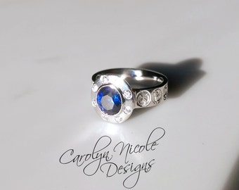 Custom Who Engagement Ring (SS)