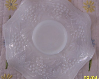 Unsigned Fenton? Milk Glass Fluted Bowl
