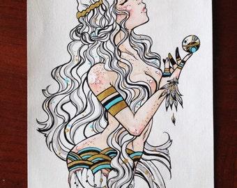 Goddess of the Soul Print