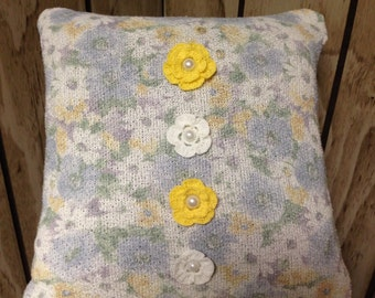 Summer Floral Pillow