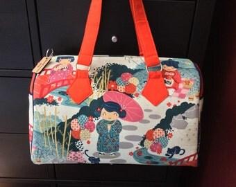Asian Blanche Barrel Bag