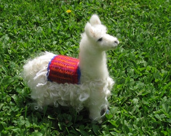 Handmade/Needle Felted Animals/Llama/Custom