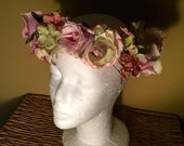 Rosey Posey floral headpiece
