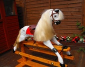 A Classic Victorian style Rocking Horse.