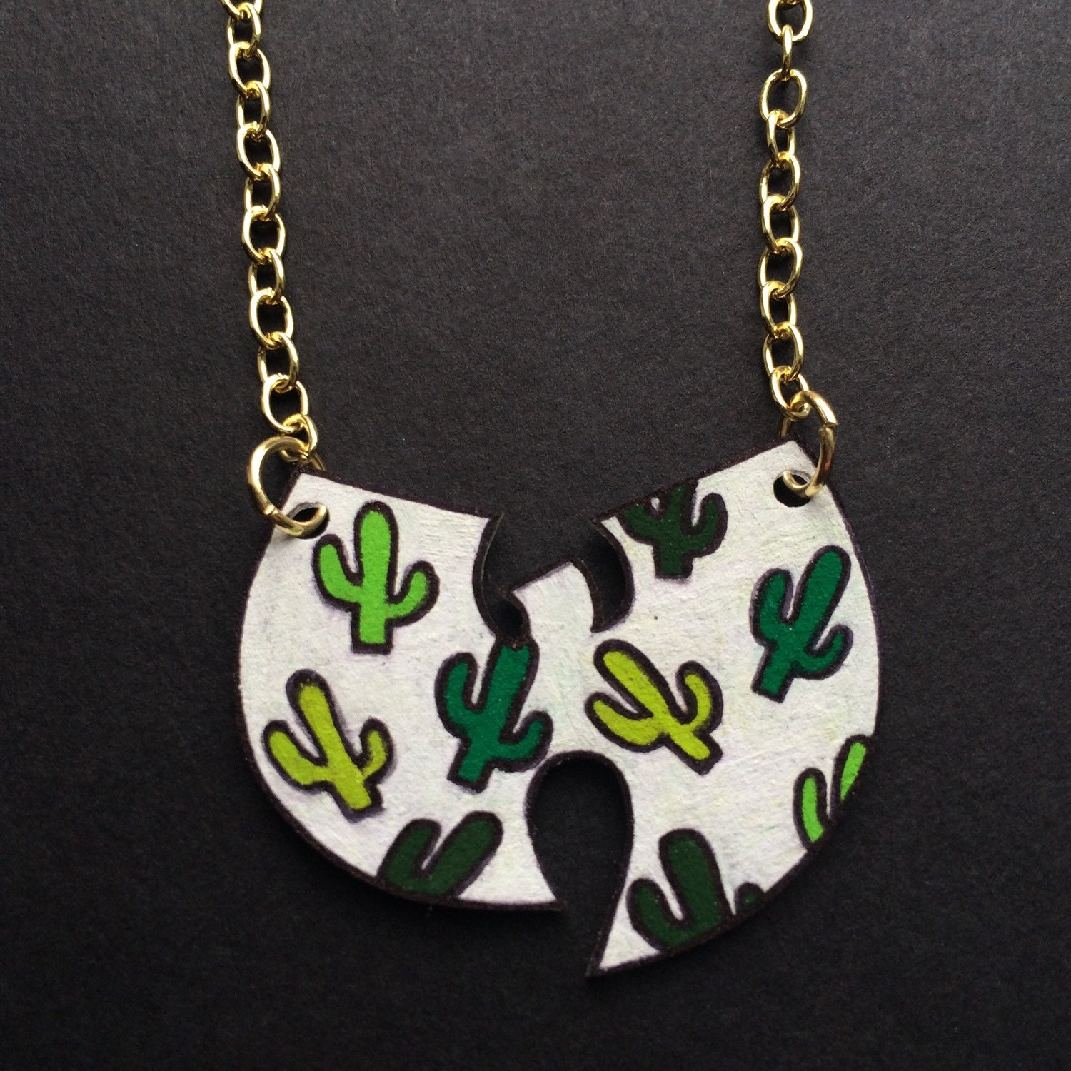 wu tang cactus clan necklace