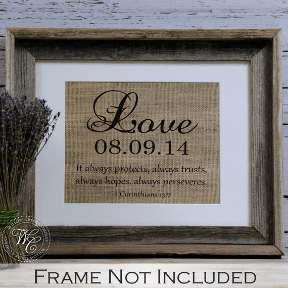 Wedding Gifts For Christian Couples : Christian Wedding Gift Personalized Wedding Gift for Couple Gift ...