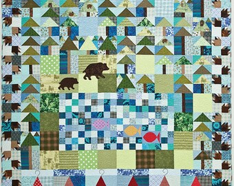 Woodland Trail Quilt Pattern