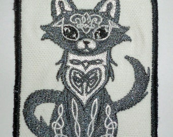 Iron-On Patch - CELTIC CAT