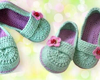 slipper crochet pattern