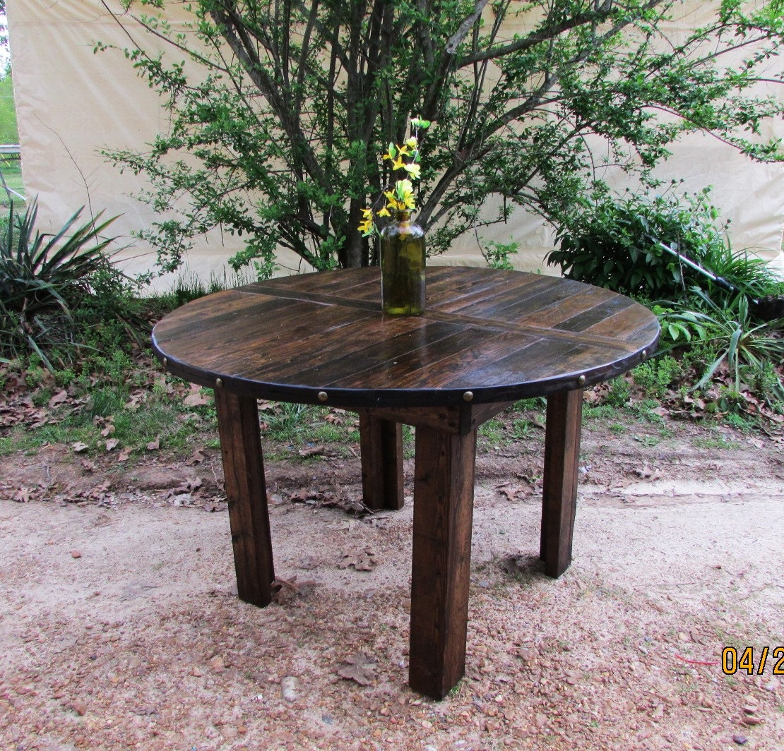Crate and barrel outdoor furniture sale - Rustic Kitchen Table Custom Rustic Furniture Rustic Kitchen Table Reclaimed Wood Rustic Dining Table Pub Table Barn Table Restaurant
