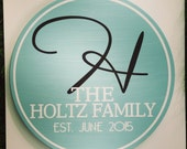 The Truman ~ Family Name Established Sign