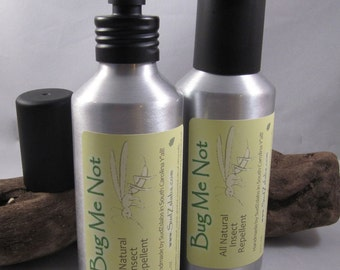 Bug Me Not - Natural Insect Repellent in Aluminum Spray Bottle (5.2 oz)