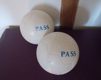 Vintage French Rubber Balls