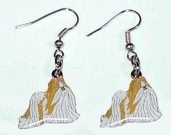 Shi Tzu Earrings  #36 Dog
