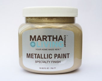 Martha Stewart Living Metallic Paint Golden Pearl Specialty Finish