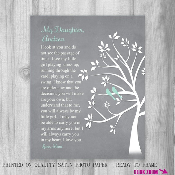 Wedding Day Gift from Mother to Daughter Wedding Gift from Parents to ...