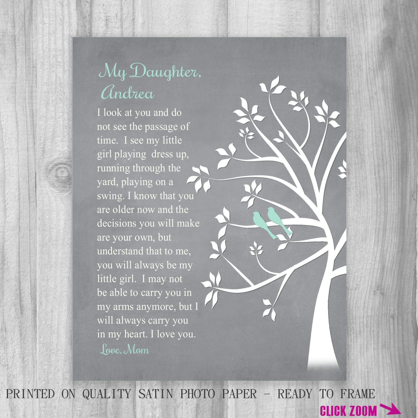 Ideas Gifts From Mother To Daughter On Wedding Day wedding day gift ...