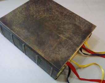 """Great Double Book of Shadows - grimoire, genuine leather,  reproduction of the book in the film """"Practical Magic"""""""