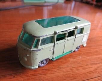 Antique Lesney Matchbox VW Campervan