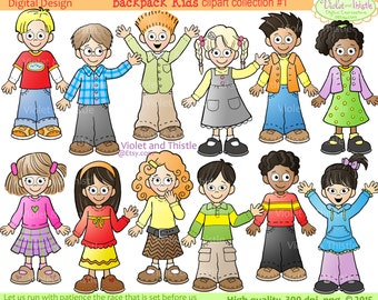 Kids Clipart Kids Clip Art Children Clip art Kids School Children Clip art School Kids Clipart Teacher Clipart School Clipart Printable kids