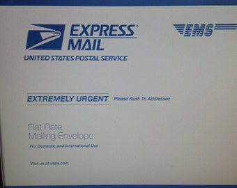 EXPRESS SHIPPING USA only