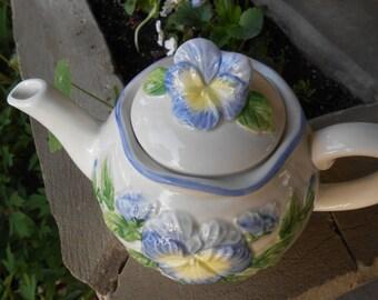 Otagiri pansey teapot