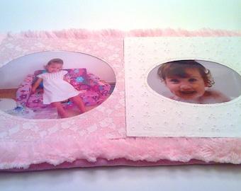 Baby Photo Album- Grand Brag Book- Baby Photo Book- Fancy Baby Shower Album