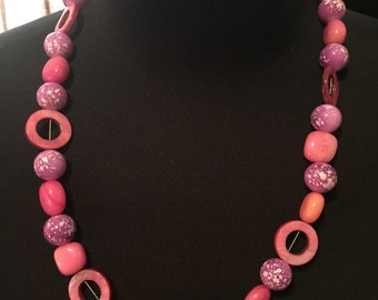 Pink Elegent Necklace