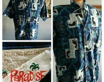 Sterling Mossman barefoot in paradise vintage hawaiian