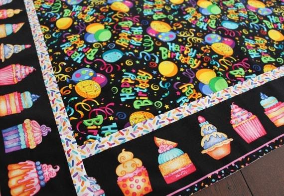 Happy Birthday Table Topper