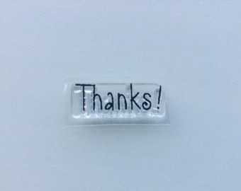 New for Rubber Stamping & Card Making Clear Acrylic Rubber Stamp By FISKARS --  Thanks