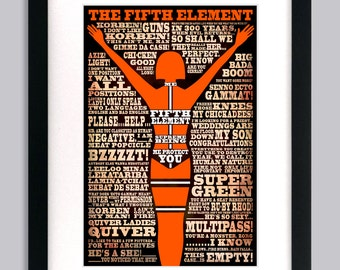 The Fifth Element Quote Art Print