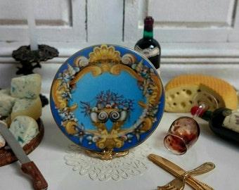 Le Tresor de La Mer  Dollhouse Miniature Plate