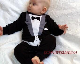Bab tux, Newborn/preemie tuxedo onesie, 1pcs. Baby tuxedo, baby tuxedo onesie - quality infant tuxedo mother day, wedding, 1st party