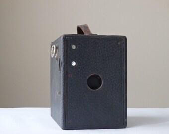 Antique Camera Film Camera Box Camera Vintage Film Camera Ansco Buster Brown Camera