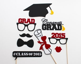 Graduation / Commencement Photo Booth Props