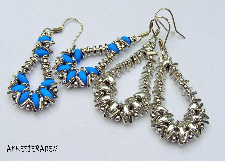 pattern for tri bead earrings
