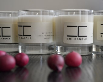 Soy Candle - 3 Tumbler HB Rocks - You choice of Three - Soy Candle