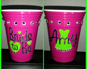Bachlorette party cup