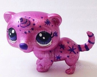 Littlest pet shop ferret toy custom ooak lps by retrodollsus - Petshop cheval ...