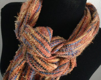 Pacific Sunset Handwoven Scarf