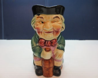 Vintage Winking Toby Mug Signed With A Torii Mark