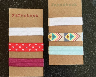 Cute Elastic Hair Ties (Two themes available)