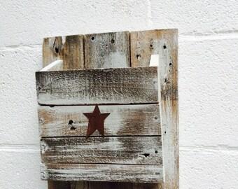 Handmade Magazine rack (single)