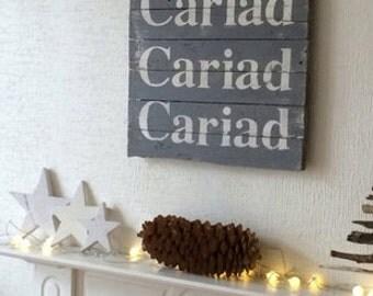 Cariad Cariad Cariad